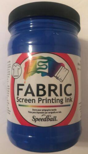 SPEEDBALL ART PRODUCTS 4603 FABRIC SCREEN INK Blue  32 OZ Blue