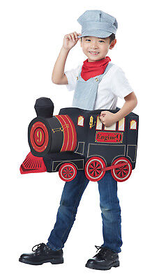 All Abroad Train Conductor Toddler Costume