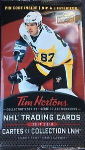 2017 Tim Hortons Hockey Cards
