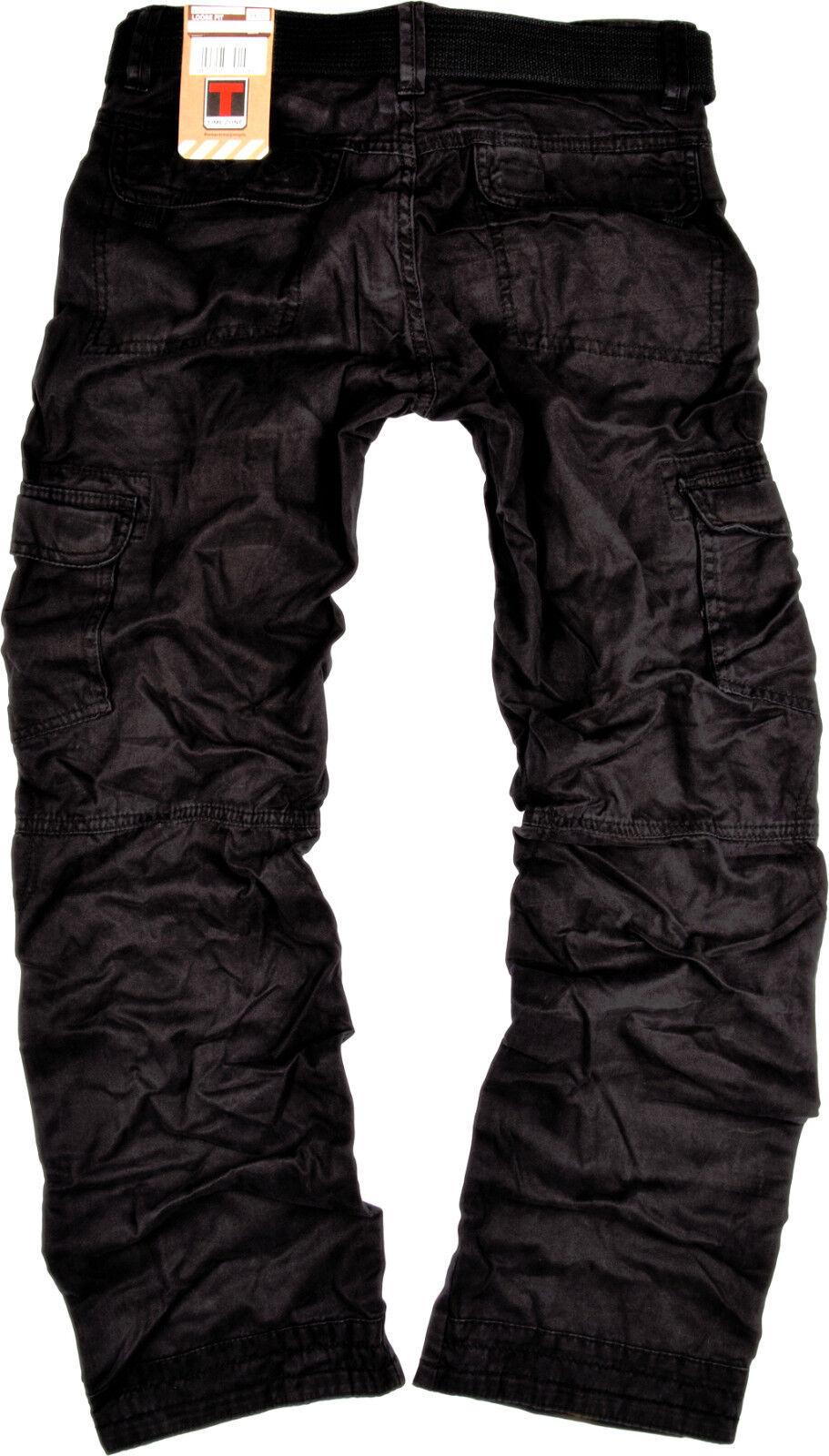 timezone herren cargo hose benito schwarz cargohose outdoor 999 herrenhose jeans eur 48 99. Black Bedroom Furniture Sets. Home Design Ideas
