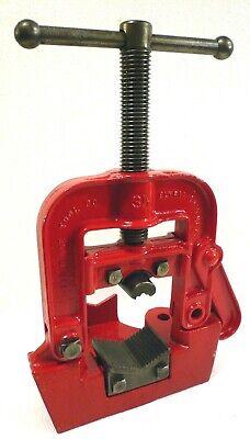 Ridgid No. B-y-3-12 Bench Yoke Pipe Vise 18 To 3-12 Capacity Excellent Usa
