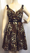 Nanette Lepore Leopard Dress