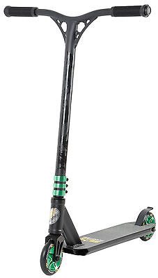 STAR-SCOOTER® Premium Freestyle Stuntscooter ★ 110mm Semi Pro ★ Schwarz (matt)