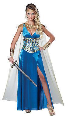 Warrior Queen Renaissance Greek Goddess Adult Costume  - Greek Queen Costume