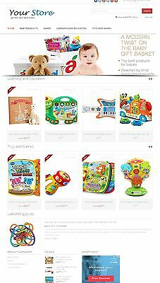 Baby Store Website - Amazon Affiliate Store On Autopilot