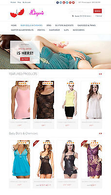 Womens Lingerie Store - The Best Amazon Affiliate Website