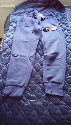 Puma Sweat Pants Blue small