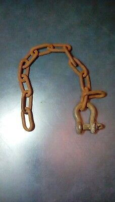 Farmall Cub C-22 Sickle Mower Lifting Chain Links Clevis Pin.