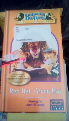 Between the Lions - Get Wild About Reading - Red Hat, Green Hat VHS