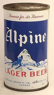 ALPINE LAGER BEER by Moosehead Breweries LTD Lancaster, New Brunswick CANADA