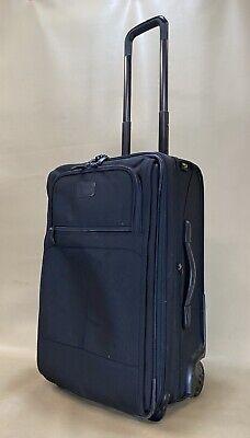 """Kirkland Signature Black 22"""" Upright Expandable Wheeled Carry On Suitcase 515223 Upright 22 Expandable Carry On"""