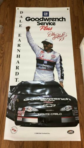 Dale Earnhardt GM Goodwrench Service Plus Poster #3 2000