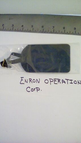ENRON OPERATIONS CORP. LUGGAGE TAG. NEW