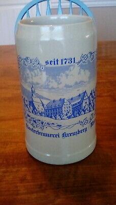 German Beer Stein, Gerz 2 Liter