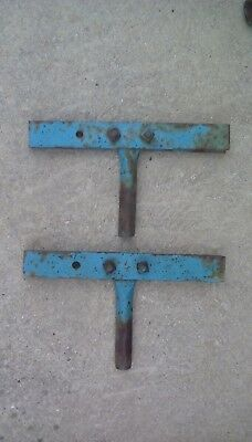 Farmall A B Bn Super A... Rear Cultivator Spring Harrow T Bar Pair