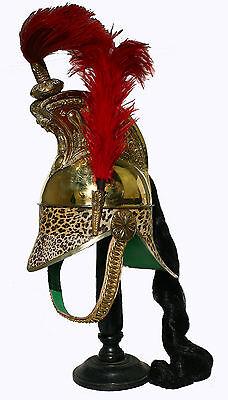 Dragoner Helm Tschako Casque de Dragons Shako Leopard Frankreich Napoleon  L140