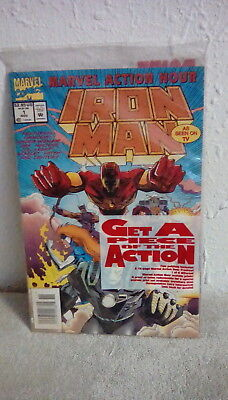 MARVEL ACTION HOUR IRON MAN ISSUE #1 NEW SEALED            k