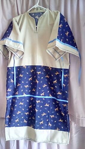 NATIVE AMERICAN RIBBON DRESS girls size 10/12