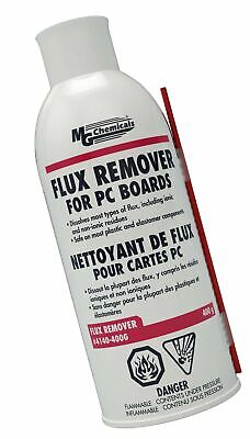 MG Chemicals 4140 Flux Remover for PC Boards, 400g (14 Oz) Aerosol Can