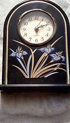 CLOCK, BATTERY OPERATED 1 AA , MANTEL OR TABLE TOP, 10' X 7' X 2''