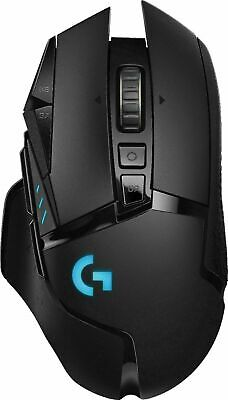 Logitech - G502 HERO Wired Optical Gaming Mouse with RGB Lighting - Black WIRED