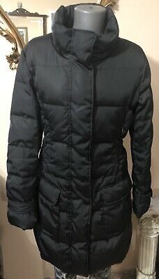Max And Co By Max Mara Womens Long Puffer Coat Brown Size Italt 42 USA 8