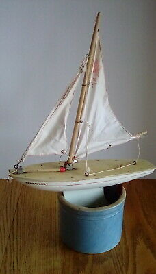 "Star Yacht Sailboat Boat ""Endeavour I"" London England Vtg 1970's for sale  Lowell"