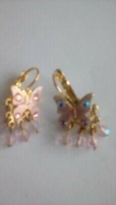 kirks folly small enameled butterfly earings