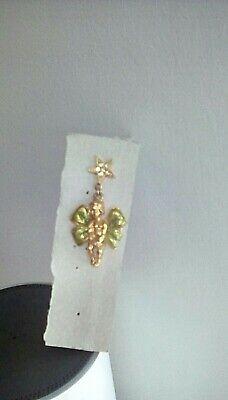 kirks folly  angel cherub pin brooch