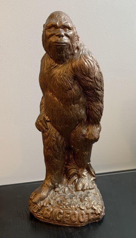 "large 12"" BIGFOOT plaster statue SASQUATCH"