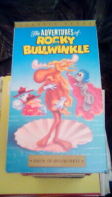 The Adventures of Rocky and Bullwinkle - Birth of Bullwinkle VHS 1960s