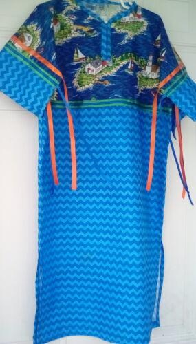 NATIVE AMERICAN RIBBON DRESS girls size 6