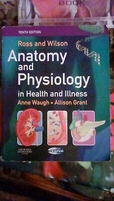 Ross and Wilson's Anatomy and Physiology Colouring and Workbook by Anne... for sale  Shipping to South Africa