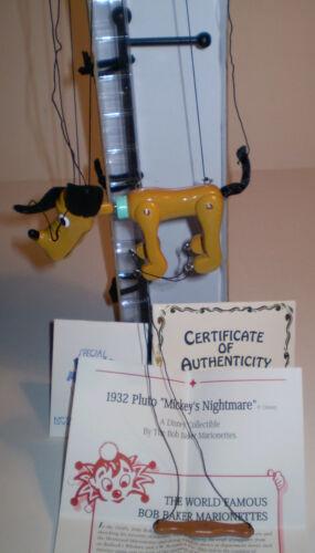 Bob Baker Marionette 1932 Pluto