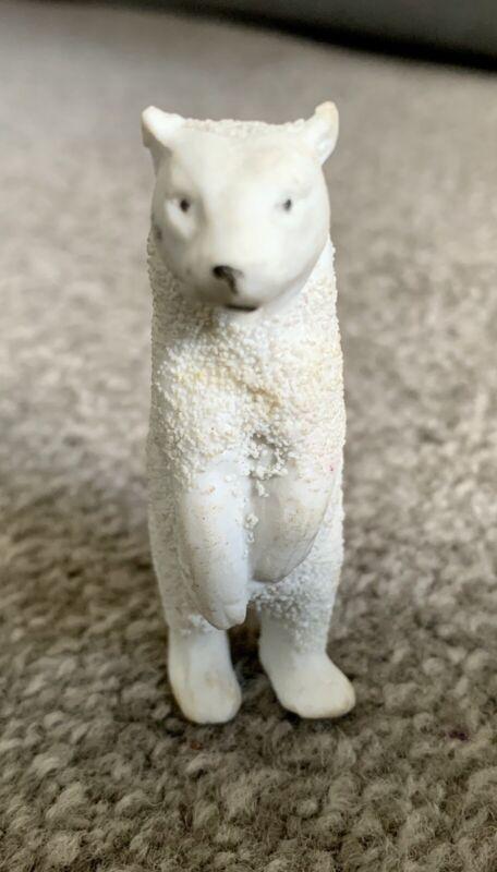 "Antique Snow Baby - STANDING POLAR BEAR - Snowbaby Babies Germany 2.75"" NICE"