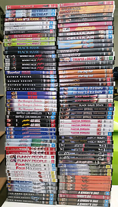 100 BULK DVD'S ( LOT 2) CLEANED GENUINE Ipswich Ipswich City Preview