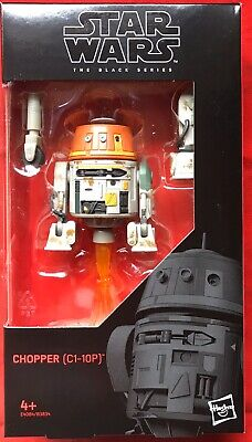 Star Wars Black Series 6 Inch  Boxed C1-10P Chopper Droid From Rebels