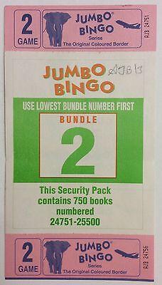 750 2 game 6 view  Bingo books