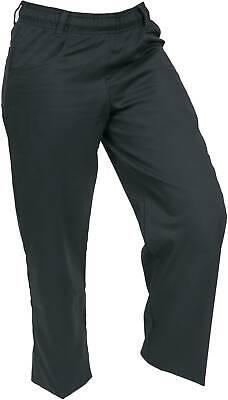 Mercer Millennia Apparel Womens Chef Pants Black Medium