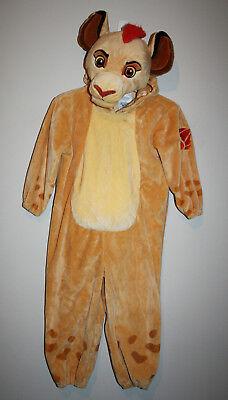 Toddler Boys DISNEY Store Lion King SIMBA Plush Halloween Costume 2 2T No Tail](Simba Halloween Costume Toddler)