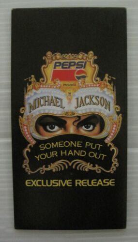 Michael Jackson - Someone Put Your Hands Out PEPSI Japan Promo Only CD TDDD90052