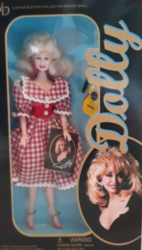 "DOLLY PARTON DOLL DRESSED IN ""HEARTSONGS"" ALBUM GOWN"