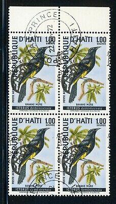 HAITI SPACE Specialized: Scott #C344B 1G Air Bird APOLLO XI OVPT SHIFTED $$$