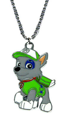 New Nickelodeon Paw Patrol Rocky CARTOON Pendant Necklace
