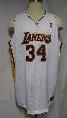Vintage Nike NBA Los Angeles Lakers Shaquille O'neal Jersey Swingman