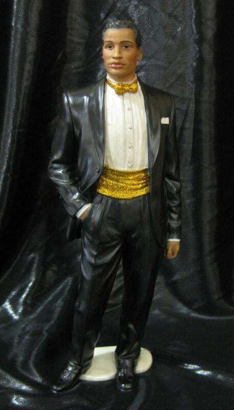 Handsome African American Man Kayani Figurine Ebony Legacies Legends  NIB