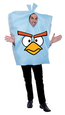 Angry Birds Space Ice Adult Pullover With Pillow Pouch For Stuffing Halloween (Ice Bird Halloween Costume)