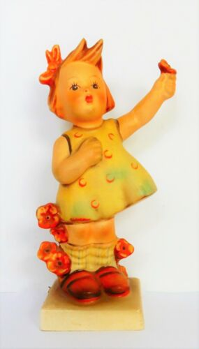 "Goebel Hummel Figurine ""Spring Cheer"" #72 Western Germany"