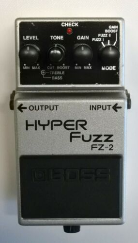 BOSS FZ-2 HYPER Fuzz Guitar Effects Pedal 1993 #80 DHL Express or EMS