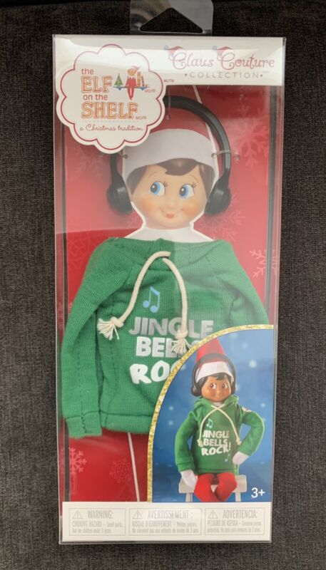 the Elf on the Shelf Claus Couture Jingle Bell Rocks Jam Hoodie Outfit Christmas